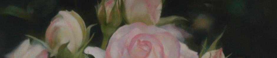 R-Flower カンバスに油彩 113×145㎝ 2015年