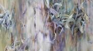『浸潤('14-Jan.)』キャンバス、油彩 162cm×130cm 2014年