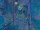「Magic Hour ー逢魔時ー072」顔料、アクリル、岩絵の具 キャンバス 27.3×22.0cm F3 2016年