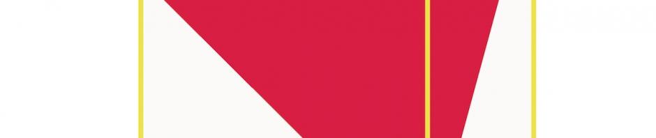 2016 矩形の斜線(補助線)P-03 910×910㎜ キャンバス・アクリル