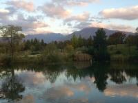 夕方の雲、秋の静寂。