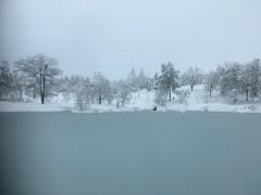 3日間の降雪で積雪は1メートル超えです。