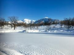 昨日、今日とも、久しぶりに、八海山と駒ヶ岳。