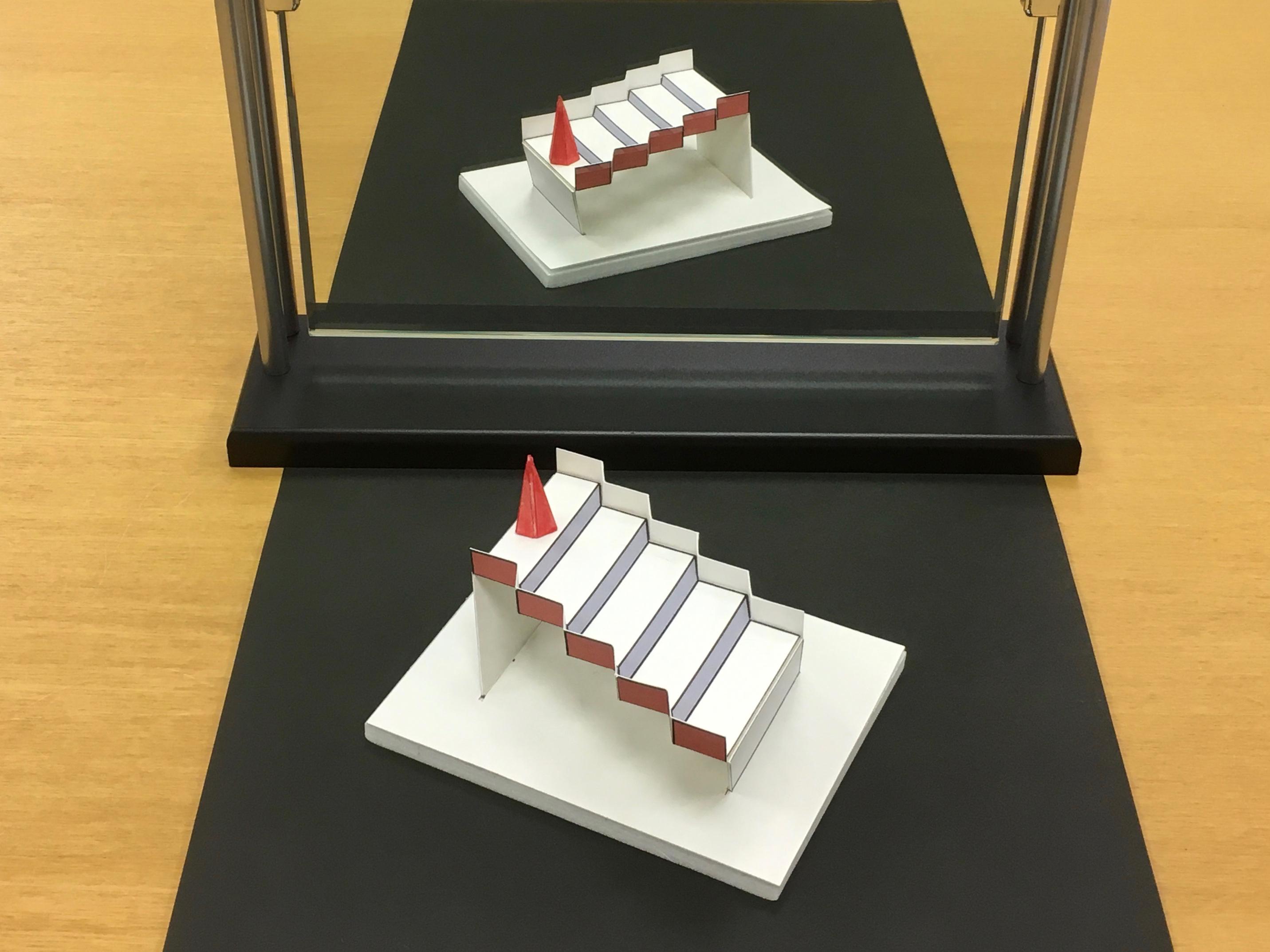 3次元シュレーダー階段