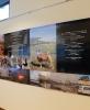 「風下の風景」合成紙にインクジェットプリント (Print for Exhibition)/108x437cm 2016