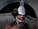Papua New Guinea Sing-sing Series #4 写真(顔料プリント) 21x29cm 1998年撮影、2014年補正加工
