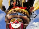 Papua New Guinea Sing-sing Series #7 写真(顔料プリント) 21x29cm 1998年撮影、2016年補正加工