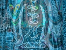 The Spirit of Sepik #3 写真(顔料プリント) 20x29cm 1988年撮影、2016年補正加工