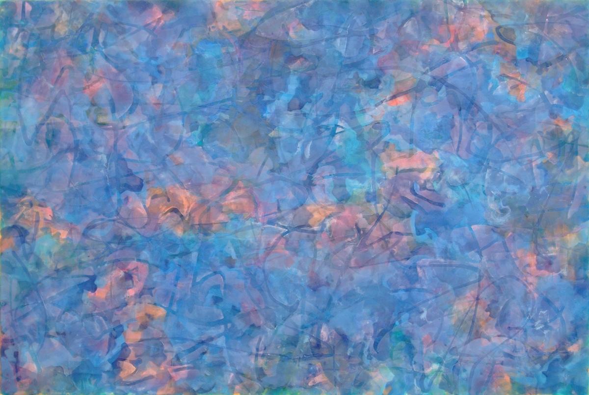 交差する視点 a11-4 195×130㎝ acrylic on canvas 2011年