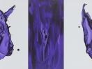 『 cry 1 』 アクリル・キャンバス 2003年 60.0×120.0cm