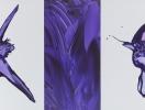 『 cry 2 』 アクリル・キャンバス 2003年 60.0×120.0cm