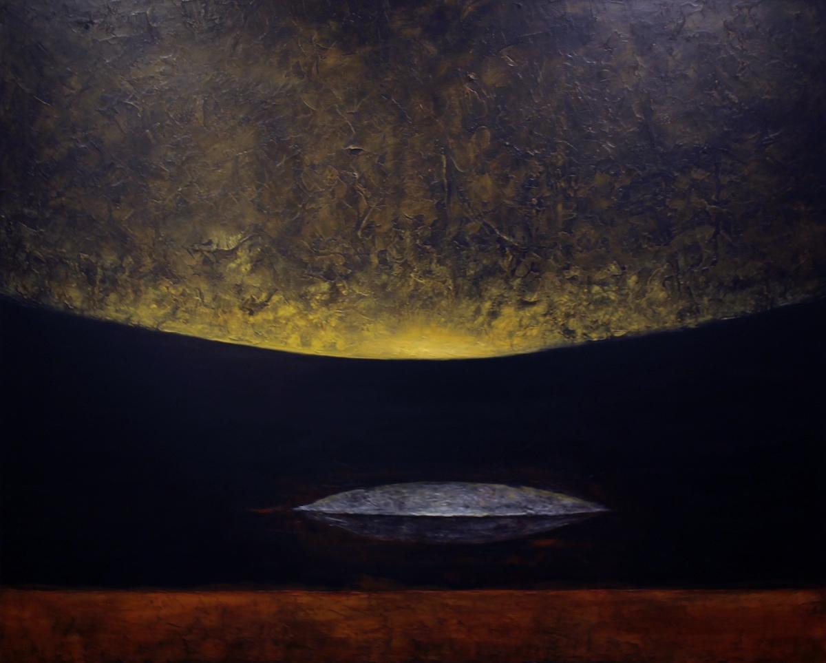 見えないものとの対話 1620x1303㎜ 2016年 キャンバスにアクリル