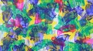 ≪絵画の襞Ⅲ 16-F500≫ キャンバスにアクリル、油彩、蜜蝋 333.3×248.5cm 2016年